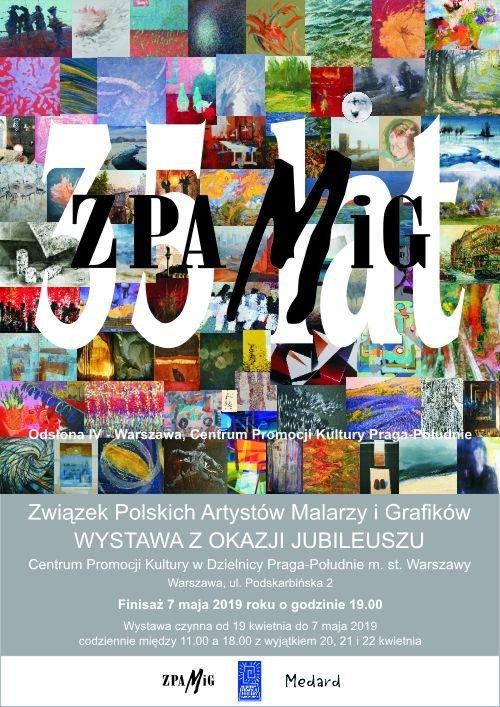9d77132c0 Już po raz trzeci Związek Polskich Artystów Malarzy i Grafików prezentuje  prace członków ZPAMiG-u w Centrum Promocji Kultury Praga-Południe, ...
